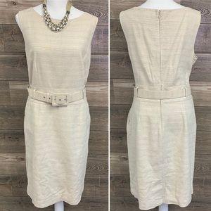 BANANA REPUBLIC Linen Belted sleeveless dress 14